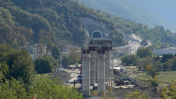 Works on Ankara Istanbul YHT Line Continues Quickly