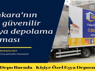 مستودع للإيجار في أنقرة