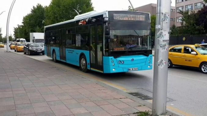 Private Buses Operating Under EGO in Ankara Withdrawn from Lines