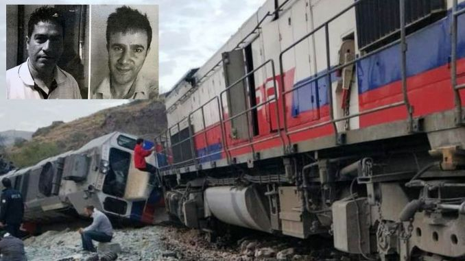 Machinists who died in a train accident in Ankara were buried!