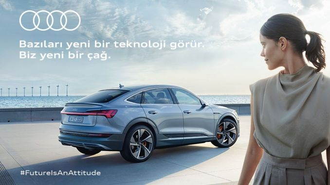 New Brand Strategy from Audi: 'Future is an Attitude'