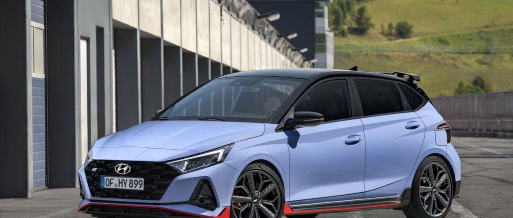 B Segmentinde Yüksek Performans, Hyundai i20 N