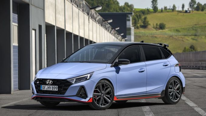 Visoke performanse u B segmentu, Hyundai i20 N