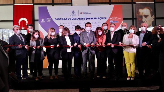 Bağcılar and Ümraniye Regional Employment Offices Opened