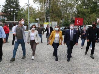 Hürriyet大統領と彼のチームはMysiaRoadsプロジェクトを調査しました