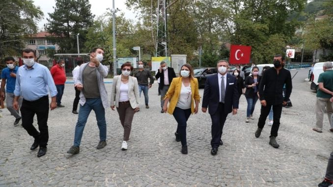President Hürriyet and His Team Examined Mysia Roads Project