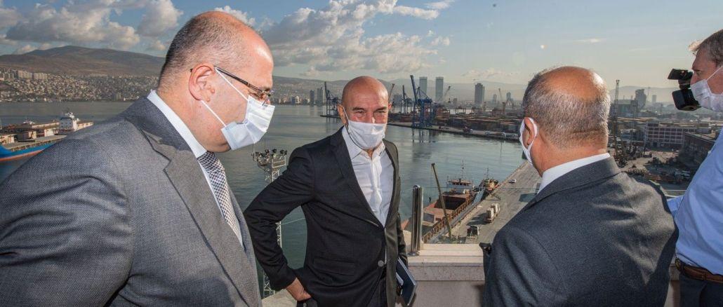 Başkan Soyer, TCDD İzmir Liman İşletmesini Ziyaret Etti