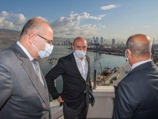 Bələdiyyə Başçısı Soyer TCDD İzmir Liman rəhbərliyini ziyarət etdi