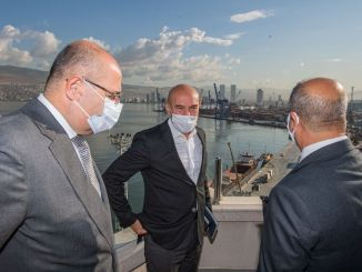 Mayor Soyer Visited TCDD İzmir Port Management