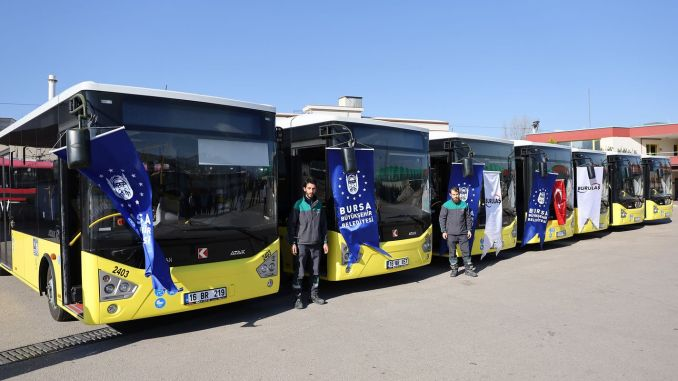 Силно укрепване на транспортния флот на Бурса