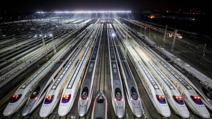 China Railway Transport Reaches 80 Percent Of The Normal Level