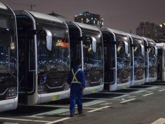 Elektrische bussen in China bereiken 60 procent van het totaal