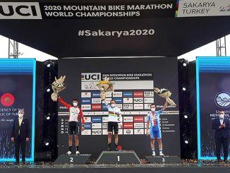 Onderscheidingen Winnaars bereikt tijdens het wereldkampioenschap mountainbike