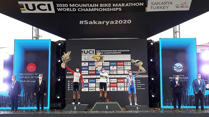 Awards Reached Winners at Mountain Bike World Championship