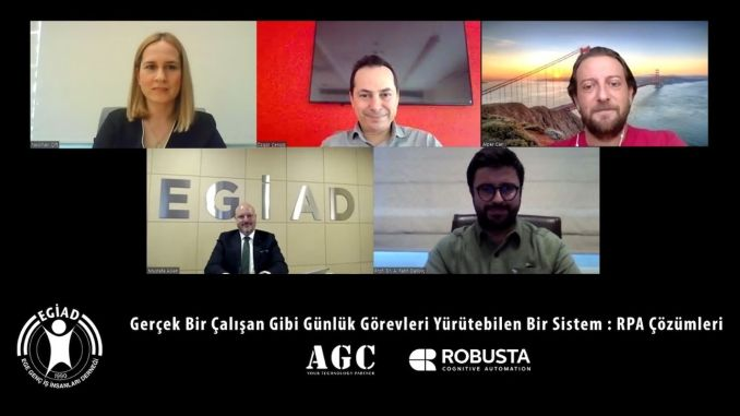 EGİAD Business World Lays Robotic Process Automation On The Table