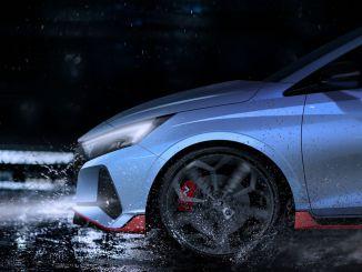 De krachtigste Hyundai i20 begint zichzelf te tonen