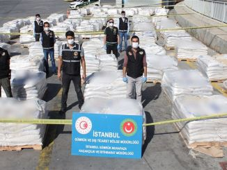 Историјска операција дроге у луци Амбарлı у Истанбулу