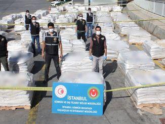 Historical Drug Operation in Istanbul Ambarlı Port
