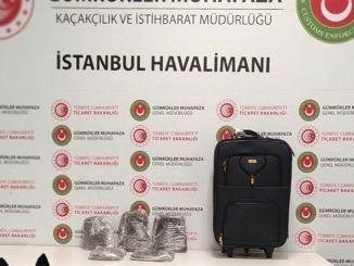 İstanbul Hava Limanında 18 Kiloqram Narkotik ələ keçirildi