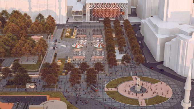 이스탄불의 새로운 사각형 디자인에 대한 투표 시작