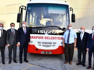 עיריית מטרופולין איזמיר תרמה אוטובוסים ל -9 מחוזות
