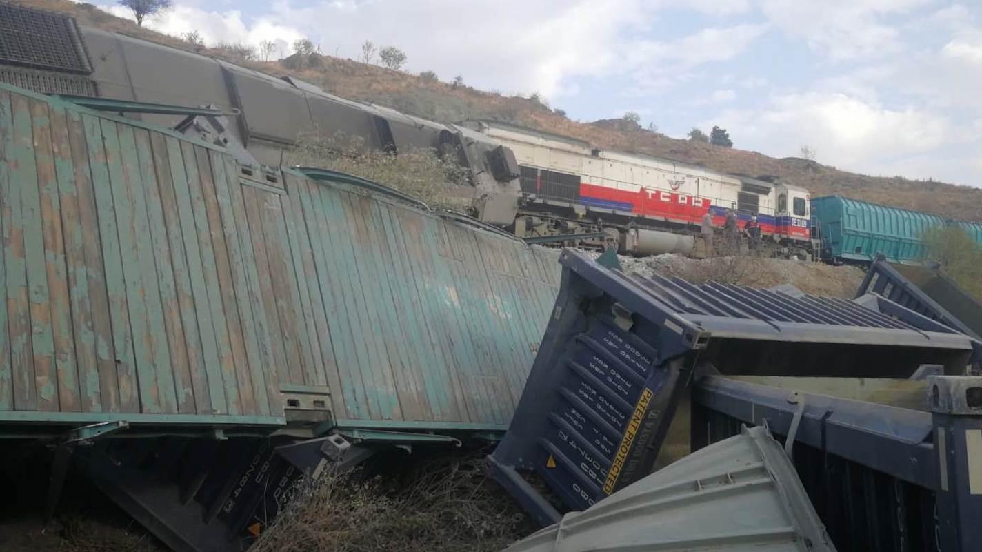 Ankara Kalecik Tren Kazası