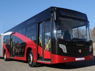 73 CNG gevoede Menarinibus Citymood van Karsan naar Mersin