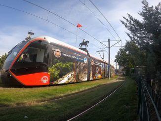 Kayseri-trams introduceren historische waarden van de stad