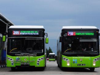 Het openbaar vervoer in Kocaeli wordt ingescheept met de HES-code