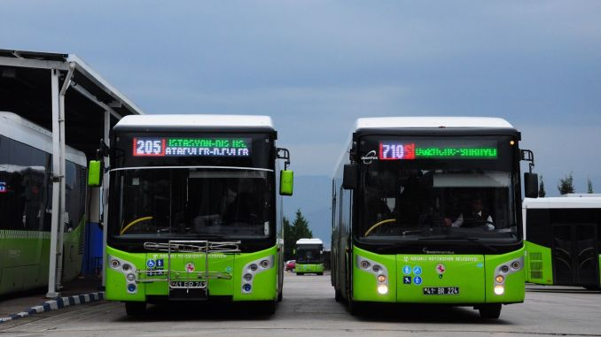 Public Transport in Kocaeli will be embarked with HES Code