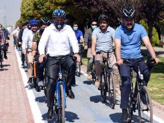 Het Konya Bicycle Master Plan zal een voorbeeld zijn voor Turkije