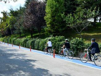 Het goede nieuws van de fietsroute naar universiteitscampussen door Mansur Yavaş