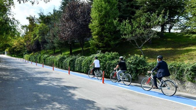 The Good News of the Bicycle Road to University Campuses by Mansur Yavaş