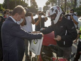 I Wearing My Helmet Awareness Event in Mersin