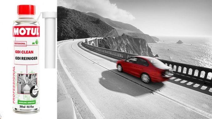 מוצר חדש של Motul, GDI Clean המונע זיהום מנוע