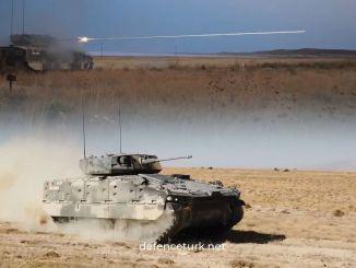 OTOKAR completó las pruebas de disparo de vehículos blindados de combate TULPAR