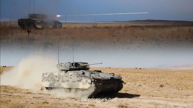 OTOKAR завершил огневые испытания боевой бронированной машины TULPAR