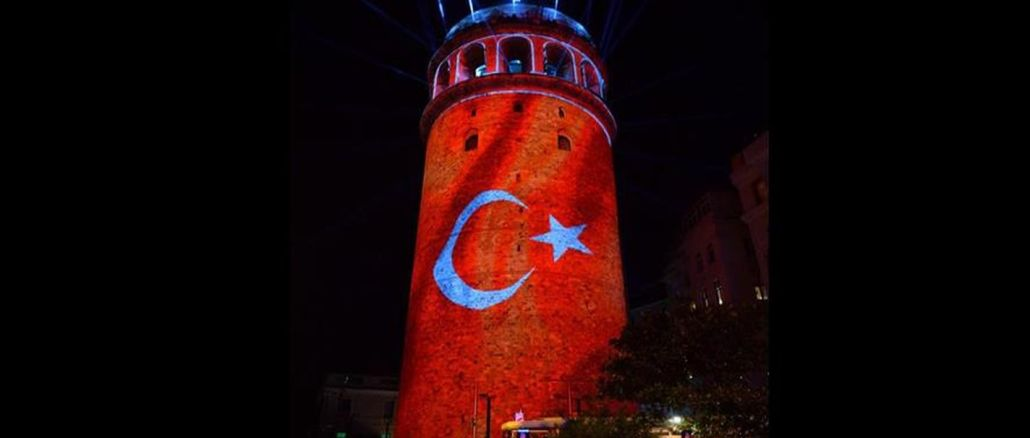 Patara Antik Kenti'den Galata Kulesi'ne Cumhuriyet Bayramı Kutlamaları