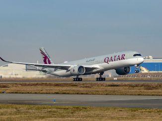 Qatar Airways levert nog drie Airbus A350-1000's