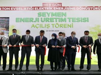 Seymen Landfill Gas Power Generation Facility 1st Phase Inaugurated