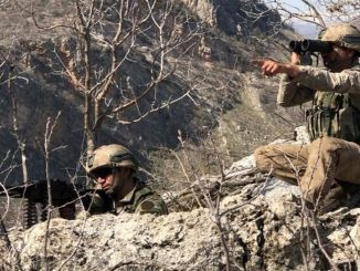 Yıldırım-13 Bestler Streams Operation in den Provinzen Şırnak-Siirt-Van-Hakkari gestartet