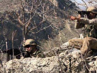 Yıldırım-13 Bestler Streams Operação lançada nas províncias de Şırnak-Siirt-Van-Hakkari
