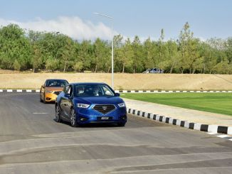 Tatar Carried Out a Test Drive with TRNC's Domestic Car GÜNSEL B9