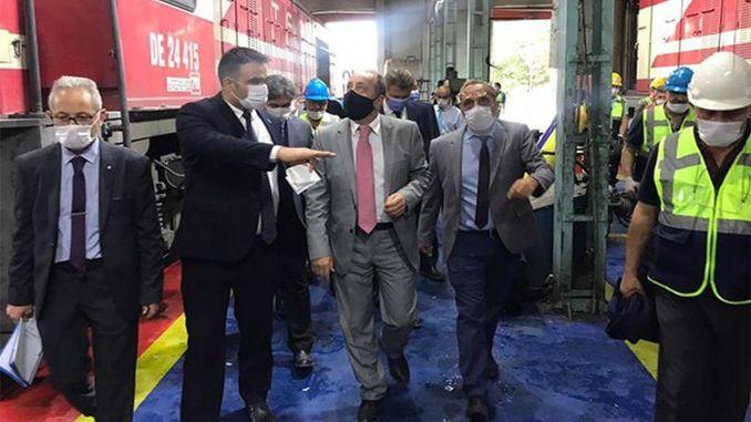 TCDD Transport General Manager Yazıcı is in Afyonkarahisar