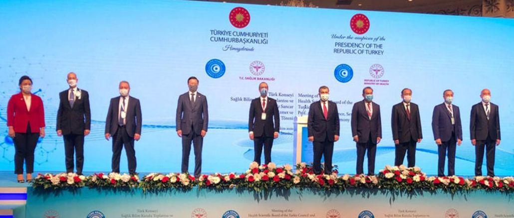 Es fand eine Sitzung des türkischen wissenschaftlichen Weltgesundheitsausschusses statt