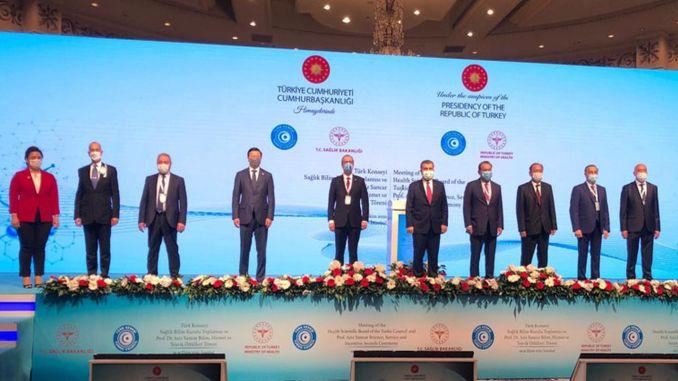 Turkish World Health Science Board Meeting was Held