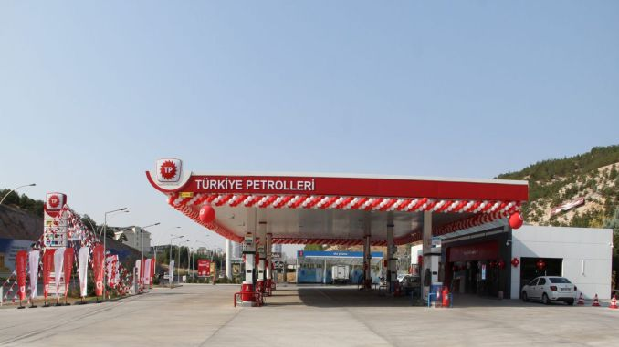 Анкара, Турция Петрол 9 месец 7 Отваря нова станция