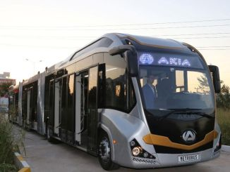 Turkey's first domestic Metrobus of 'AKI A'