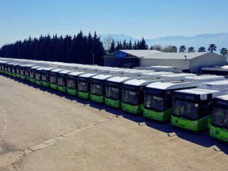 Parkbussen hebben in 1 maand 2 miljoen kilometer afgelegd