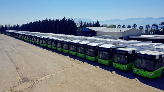 Park Buses Covered 1 Million Kilometers in 2 Month